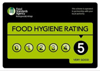 5* food hygiene standards certificate